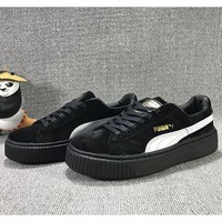 Puma Casual Shoes Thick bottom increased-4