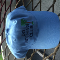 Do Nothing Club Hat - Light Blue