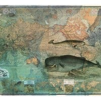 One Kings Lane - Map Happy - The World Map 1870