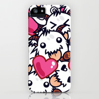 League of Legends Poro Party iPhone & iPod Case by SylvieW