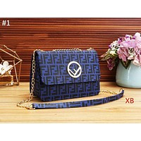Fendi Autumn And Winter Fashion New Classic Double F Printed Letters Casual Fashion Shoulder bag