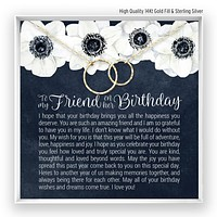 Friend Birthday  Linked Circles Necklace