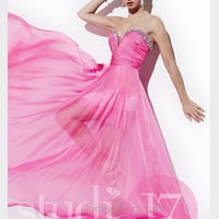 Strapless Sweetheart Studio 17 Formal Prom Gown 12480