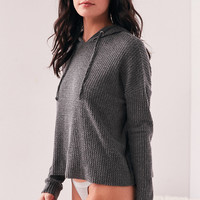 Out From Under Farrah Thermal Hoodie Sweatshirt | Urban Outfitters