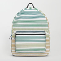 Sand and sea Backpack by edrawings38