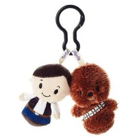 Star Wars™ Han Solo™ and Chewbacca™ itty bittys® Clippys Stuffed Animals