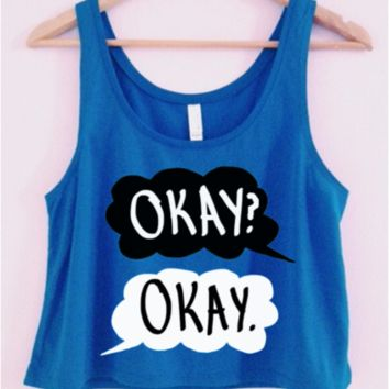 The Fault In Our Stars Crop-Top