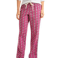 Reindeer Whale Flannel Lounge Pants
