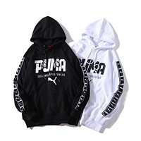 PUMA winter new men and women fashion versatile hooded hoodie