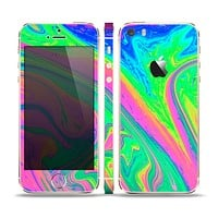 The Neon Color Fushion V3 Surface Skin Set for the Apple iPhone 5s