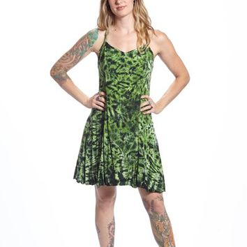 Princess Dress - Avocado Crakle