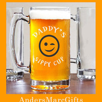 25 oz Large Mug Daddy's Sippy Cup! **** Cute Fathers Day Gift for under 20. Daddy's Sippy Cup can also be personalized with another name!