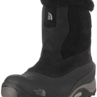 The North Face Women's Greenland Zip II Insulated Boot,Black/Dark Gull Grey,8 M US