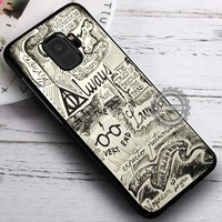 Collage Line Art Harry Potter iPhone X 8 7 Plus 6s Cases Samsung Galaxy S9 S8 Plus S7 edge NOTE 8 Covers #SamsungS9 #iphoneX