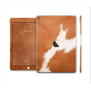 The Real Brown Cow Coat Texture Skin Set for the Apple iPad Pro