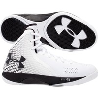 Under Armour Women's Micro G Torch 3 Basketball Shoe - White/Black   DICK'S Sporting Goods