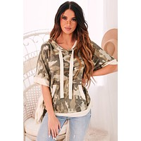 Forest Living Poncho (Army)