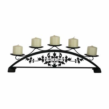 Victorian - Table Top Pillar Candle Holder