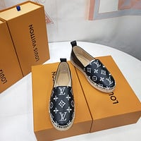lv louis vuitton women casual shoes boots fashionable casual leather women heels sandal shoes 121