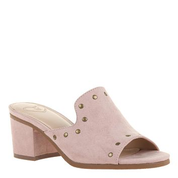 MADELINE - BOSSY in BLUSH Heeled Sandals