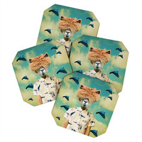Natt Portrait n 2 Coaster Set