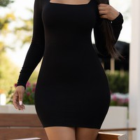 Feeling Good Dress Black