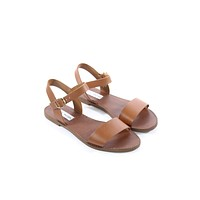 Tan Leather Sandals - Steve Madden