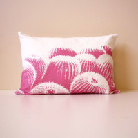 Comforting Cacti Pillow - Pink