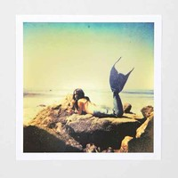 Claire Oring Mermaid Art Print- Multi One