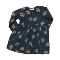 TinyCottons PineCone Dress - Size 2T