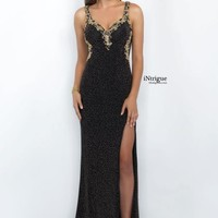 Intrigue by Black Fitted Blush Dress 134