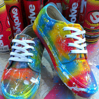 CUSTOM Painted VANS Shoes by MOPS