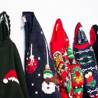 -Mystery Ugly Christmas Sweaters