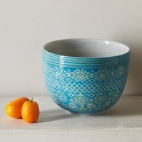 Etched Bowl by Anthropologie