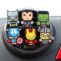 Car Auto Marvel Style The Avengers Star Wars Air Freshener Superman Batman JDM import