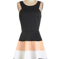 ModCloth Sleeveless A-line Spin into Style Dress