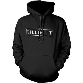 Killin' It Graphic Hoodie Trendy Hooded Sweatshirts Pullover Fleece Sweaters