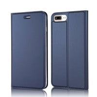 AICHOC iPhone 7 Plus Wallet Case PU Leather Flip Folio Kickstand Wallet Case with Card Slots For iphone 7 Plus