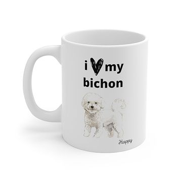 i love my bichon Mug