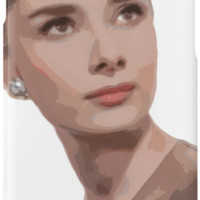 'Posterized, Ponderous Audrey' iPhone Case/Skin by TellAVision