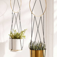Triangle String Hanging Planter | Urban Outfitters