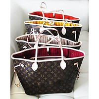 LV Louis Vuitton Flor Women Girl Monogram Canvas LV Louis Vuitton Flor Women Girl Monogram Canvas Neverfull Two piece And Key pouch-Coin purseTwo piece or Key pouch-Coin purse