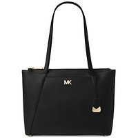 Michael Kors Maddie Womens Classic Leather Tote $228