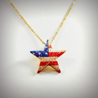 """American Star Gold Chain 16"""" Necklace"""