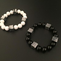Hot Sale Shiny Stylish Gift Great Deal Awesome New Arrival Hip-hop Bracelet [6542740995]