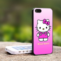 Hello Kitty pinky iPhone 5 Case, iPhone 4 Case, iPhone 4s Case, iPhone 4 Cover, Hard iPhone 4 Case