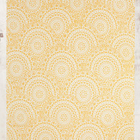 Gossamer 5x7 Rug in Yellow - Urban Outfitters