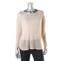 Soft Joie Womens Nash Knit Sheer Pullover Sweater