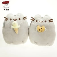 Pokemon Plush Toys 9'' 23cm Pusheen The Cat Cookie & Icecream Cat Kawaii Soft Stuffed Plush Doll Kids Toys For Children