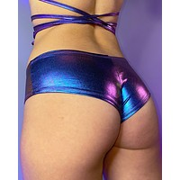 Mystic Neptune Low Rise Booty Shorts